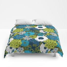 Vintage Florals Chrysanthemum Comforters