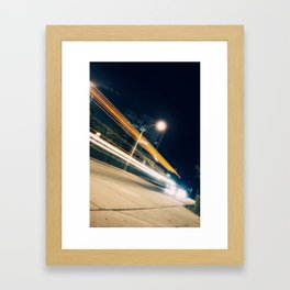 Here, there and everywhere Framed Art Print