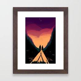 Seek the Truth Framed Art Print