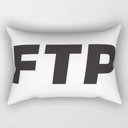 FUCKTHEPOPULATION FTP Rectangular Pillow