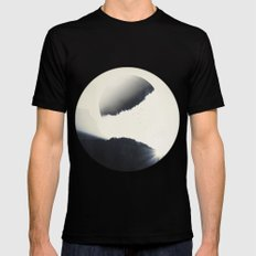 out of balance MEDIUM Black Mens Fitted Tee