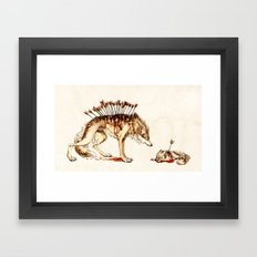 Loss Framed Art Print