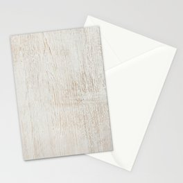 White vintage wood Stationery Cards