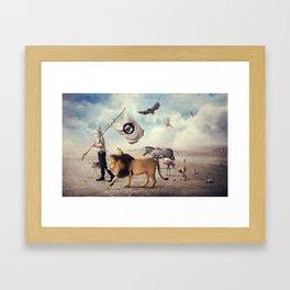 Road to Refuge Framed Art Print