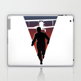 North By Northwest: Alfred Hitchcock + Cary Grant + plane = film classic Laptop & iPad Skin