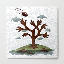 Player tree Metal Print