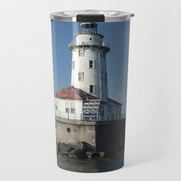Chicago Harbor Light Travel Mug