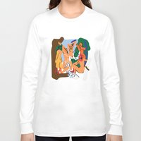 pablo picasso Long Sleeve T-shirts featuring Picasso by John Sailor