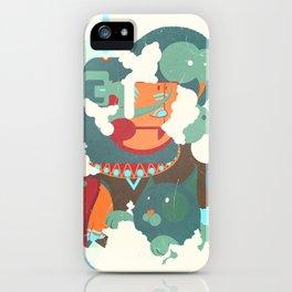 Mayan priest2 iPhone Case