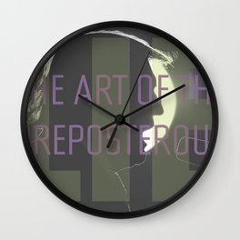 The Art of the Preposterous Lie Wall Clock
