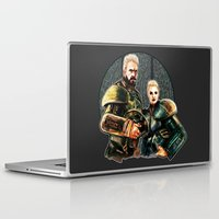 pacific rim Laptop & iPad Skins featuring pacific rim by chazstity