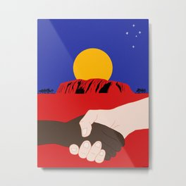 Come Together Metal Print