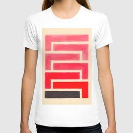 Geometric Pattern Watercolor Painting T-shirt
