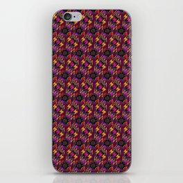 Purple Catacombs iPhone Skin
