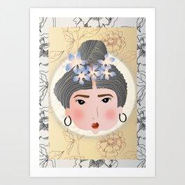 Neheron paar bungaló Art Print