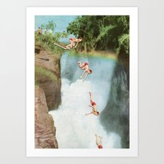 Diving Board Art Print