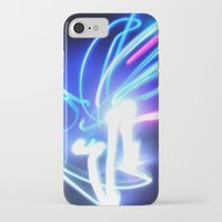 neon iPhone & iPod Cases featuring Neon by Monica Ortel ❖