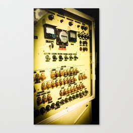 Vintage Switches Canvas Print