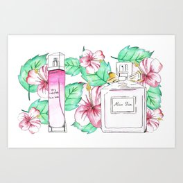 Perfumes Series 4 Art Print