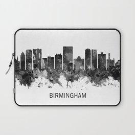 Birmingham Alabama Skyline BW Laptop Sleeve