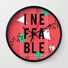 Ineffable Wall Clock