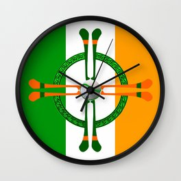 Hurley and Ball Celtic Cross Design Wall Clock