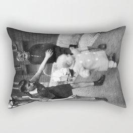 Aufpassen Rectangular Pillow