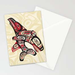 Eagle Fin Killer Whale Stationery Cards
