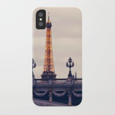 la tour eiffel Slim Case iPhone X