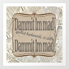 Im Mad Art Print