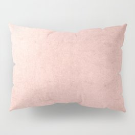 Blush Rose Gold Ombre Pillow Sham