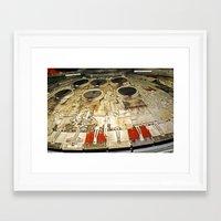 millenium falcon Framed Art Prints featuring Millenium Falcon Body by Ewan Arnolda