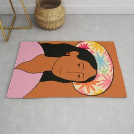 GIRL IN A HAT Rug