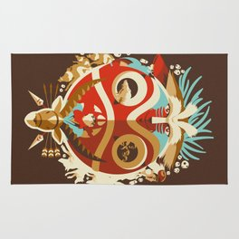 The Days of Gods and Demons Rug