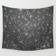 Logic Will Get You From Point A to Point B (Geometric Web/Constellations) Wall Tapestry