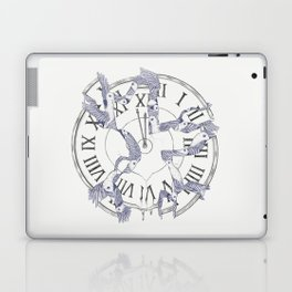 Existence with Time (Time Travelers) Laptop & iPad Skin