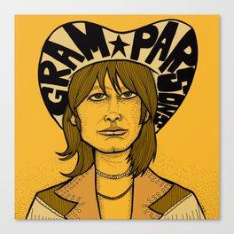 Gram Parsons Canvas Print