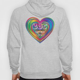 Electric Daisy Carnival Heart Hoody