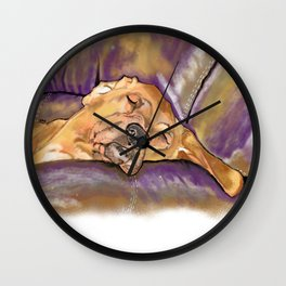 That's Quite a Dawg Wall Clock
