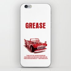 Grease Movie Poster iPhone & iPod Skin