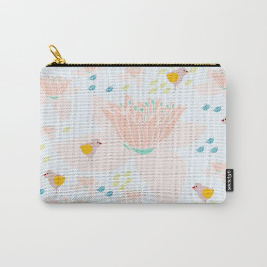Lotus and babybird Carry-All Pouch