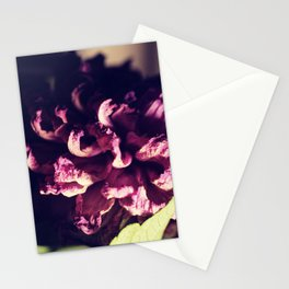 dry purple flower - 3rd Stationery Cards