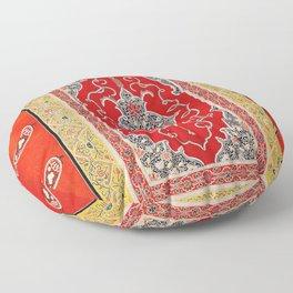 Rasht Gilan North Persian Embroidery Print Floor Pillow