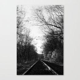 The Rail Canvas Print