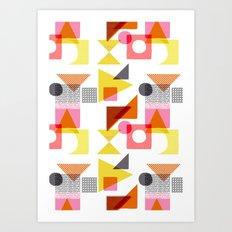 PlayBlocks Art Print