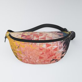 Abstract Geometric Art Colorful Design 509 Fanny Pack