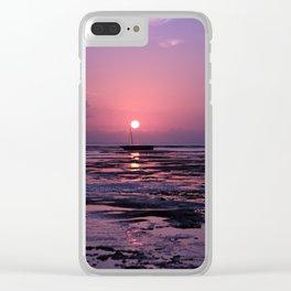 Zanzibar Island Sunrise Clear iPhone Case