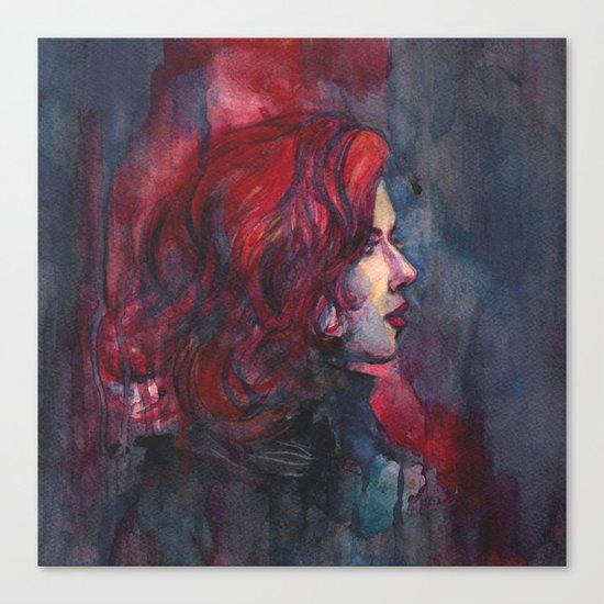 Widow Canvas Print
