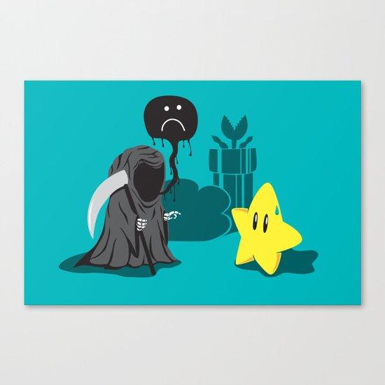 Death's worst enemy Canvas Print