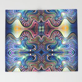 4D Days and 4D Nights  Throw Blanket